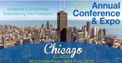 AOTA 2016  Chicago, Illinois